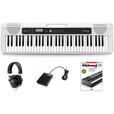 Casio Casiotone CT-S200 Keyboard Essentials Kit White