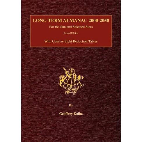 Long Term Almanac 2000-2050 - by  Geoffrey Kolbe (Paperback) - image 1 of 1