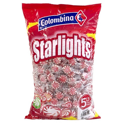 Colombina Pinwheel Starlight Mint Candies - 5lbs - image 1 of 1