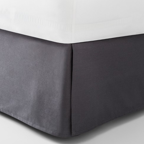 Dark Gray Solid Bed Skirt Queen Made By Design Target