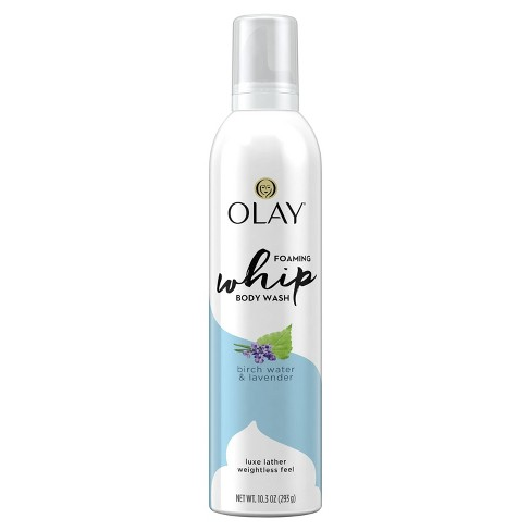 Olay Purifying Birch Water & Lavender Scent Foaming Whip Body Wash for Women - 10.3oz - image 1 of 4