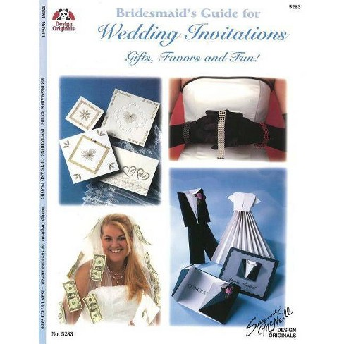 Bridesmaid's Guide for Wedding Invitations - (Design Originals) by  Suzanne McNeill (Paperback) - image 1 of 1