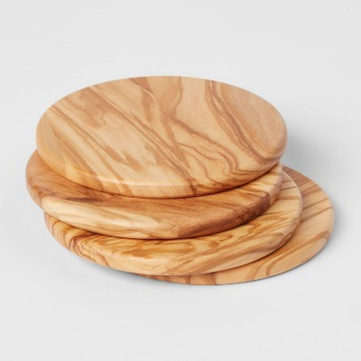 4pk Olivewood Coasters - Threshold™