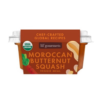 lil' gourmets Organic Moroccan Butternut Squash Baby Veggie Meal - 3.5oz