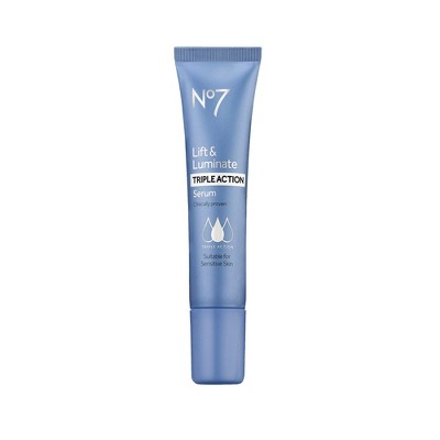 Facial Treatments: No7 Lift & Luminate Triple Action Serum