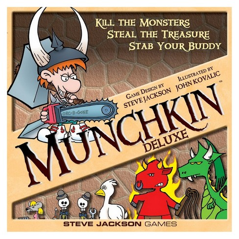 Munchkin Deluxe Board Game - image 1 of 4
