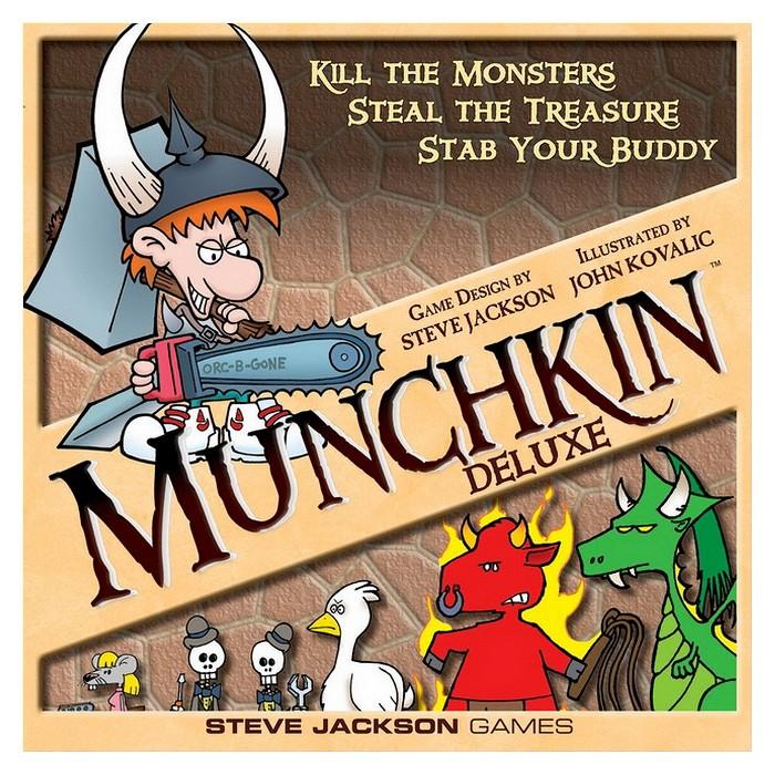 Munchkin Deluxe Board Game : Target