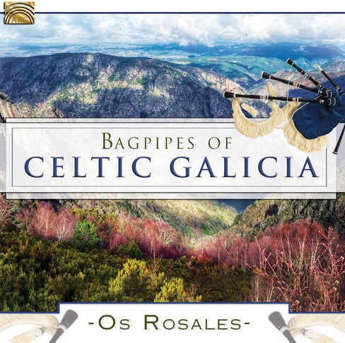 Os Rosales - Bagpipes Of Celtic Galicia (CD) - image 1 of 1