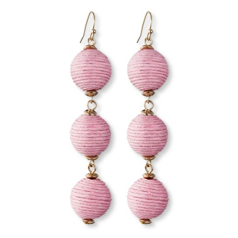 SUGARFIX by BaubleBar Triad Ball Drop Earrings - image 1 of 2