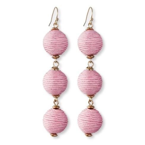 SUGARFIX by BaubleBar Triad Ball Drop Earrings - image 1 of 7