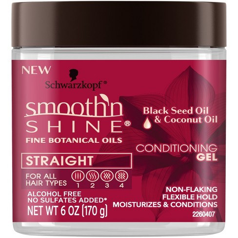 Smooth 'N Shine Straight Conditioning Gel - 6oz - image 1 of 2