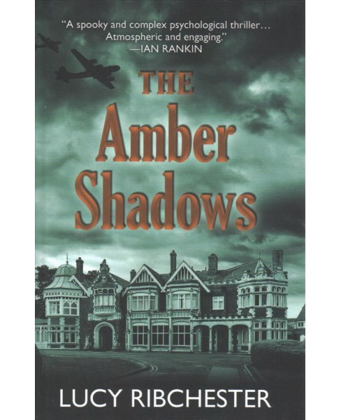 Amber Shadows -  Large Print by Lucy Ribchester (Hardcover) - image 1 of 1