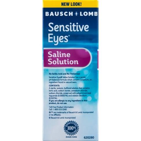 Sensitive Eyes Plus Saline Solution 2-pk  - 24 oz