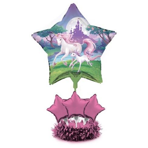Unicorn Fantasy Balloon Centerpiece Kit Target