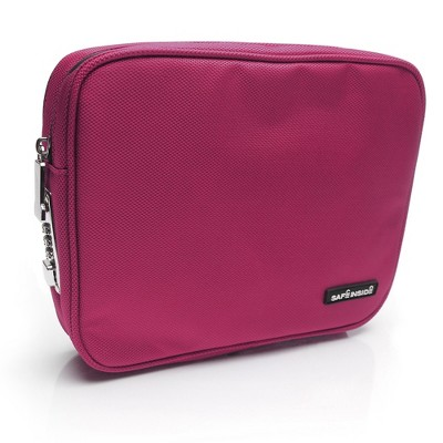 Medium Safe Inside Locking Privacy Pouch - Pink