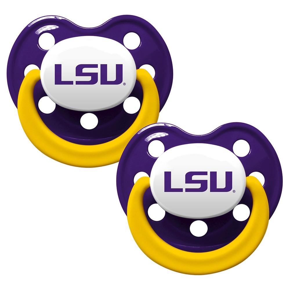 NCAA Lsu Tigers Pacifier, Purple/Gold