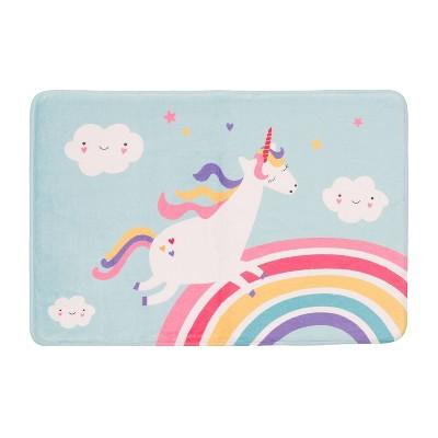 "20""x30"" Stargazer Unicorn Bath Mat - freshmint kids"