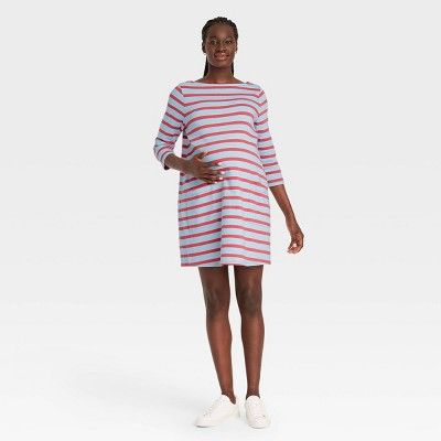The Nines by HATCH™ 3/4 Sleeve Maternity Dress