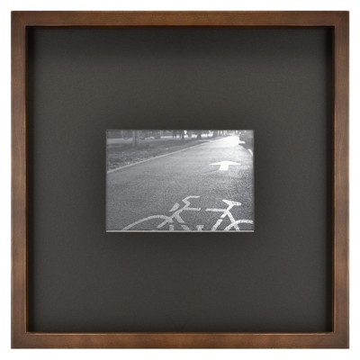 Matted Mid Tone Wood Picture Frame - Project 62™