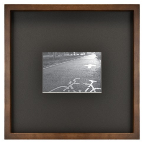 Matted Mid Tone Wood Picture Frame - Project 62™ - image 1 of 4