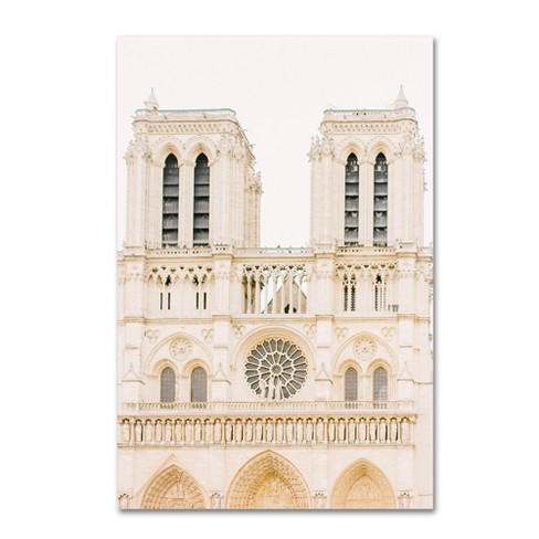 Trademark Global Ariane Moshayedi 'Notre Dame' Unframed Wall Canvas Art - image 1 of 3