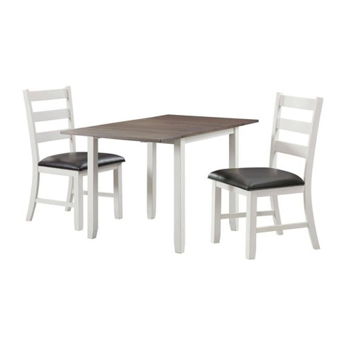 3pc Tuttle Drop Leaf Dining Set and 2 Chairs - Picket House Furnishings - image 1 of 4