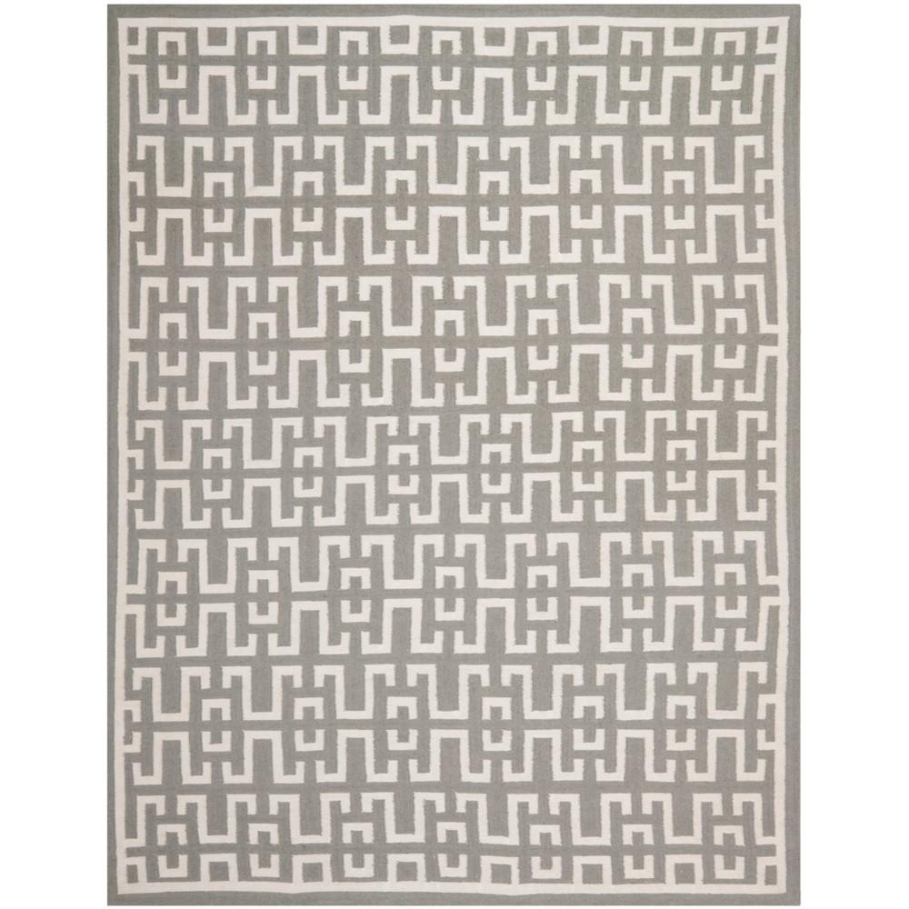 8 X10 Woven Geometric Area Rug Light Gray Safavieh