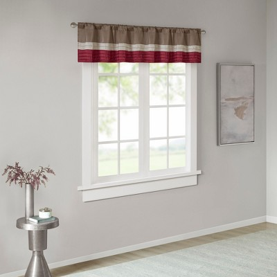 "18""x50"" Salem Polyoni Pintuck Window Valance"