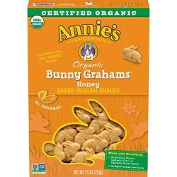 Annie's Organic Honey Bunny Grahams - 7.5oz