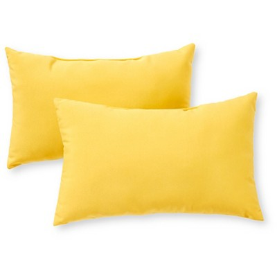 Outdoor Accent Pillow Set - Sunbeam - Greendale Home Fashions
