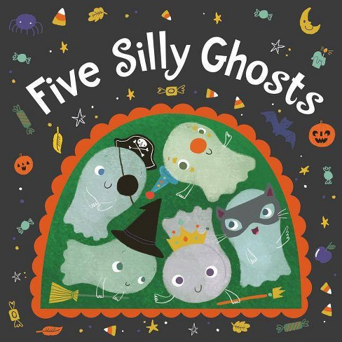 Five Silly Ghosts - by  Houghton Mifflin Harcourt (Board_book) - image 1 of 1