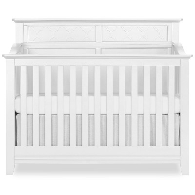 Sweetpea Baby Fairview  4-in-1 Convertible Crib - White