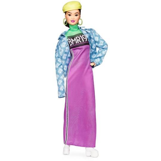 Barbie BMR1959 - Neon Motocross Dress & Oversized Denim Jacket image number null