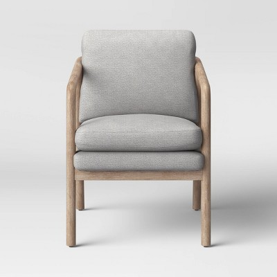 Tufeld Wood Arm Chair Gray - Project 62™