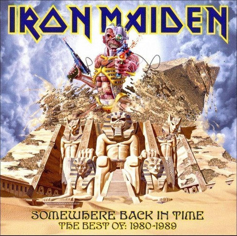 Iron Maiden - Somewhere Back in Time: The Best of 1980-1989 (CD) - image 1 of 1
