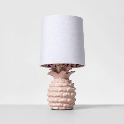 Pineapple Mini Table Lamp Pink - Opalhouse™