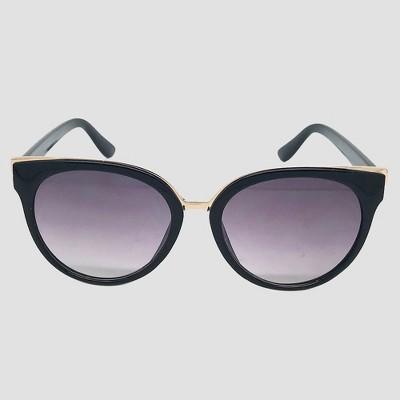 9ce31d095c Women s Cateye Sunglasses - A New Day™ Black   Target