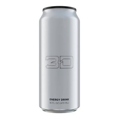 3D Strawberry Lemonade Energy Drink - 16 fl oz Can
