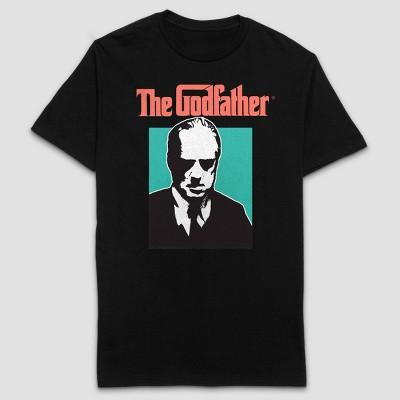 Men's The Godfather Short Sleeve Graphic T-Shirt - Black