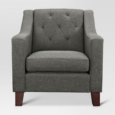 Felton Tufted Chair - Dunes Gray - Threshold™