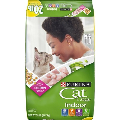 Purina Cat Chow Indoor Dry Cat Food - 20lb