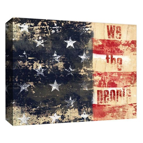 """We The People Decorative Canvas Wall Art 11""""x14"""" - PTM Images - image 1 of 1"""