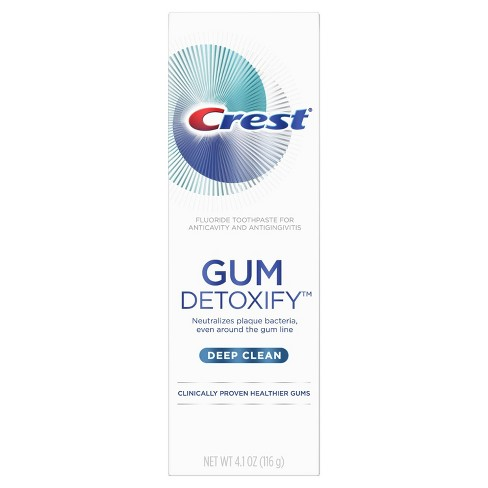 Crest Gum Detoxify Deep Clean Toothpaste - 4.1oz - image 1 of 4