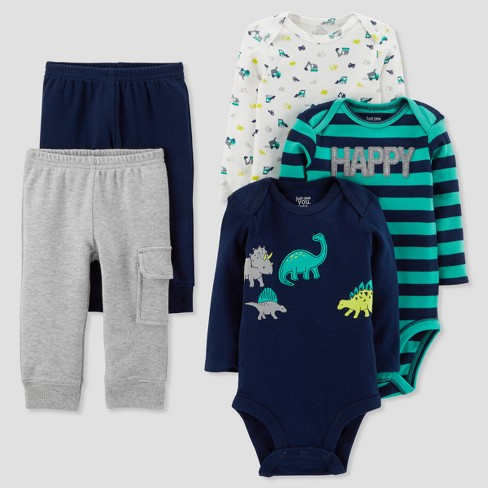Baby Boys' Dinosaur Bundle Set - Just One You™ Made by Carter's® Blue - image 1 of 1