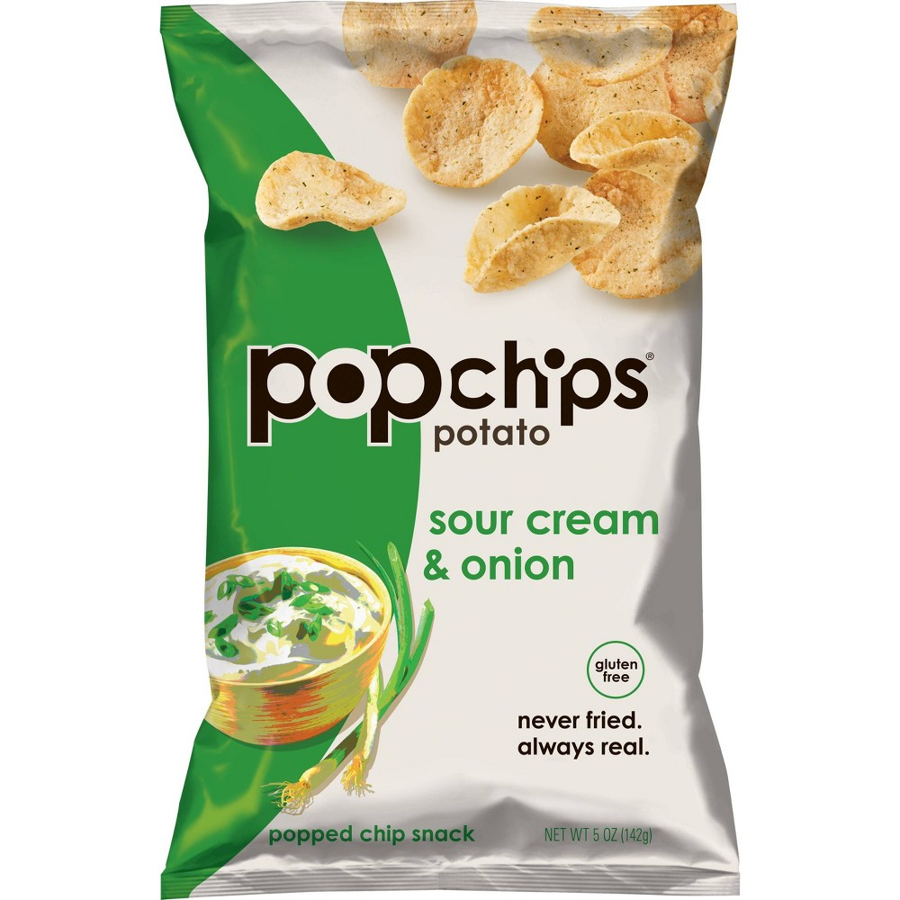 Popchips Sour Cream And Onion 5oz