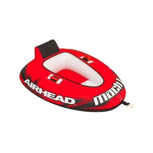 Airhead Mach 1 Inflatable Single Rider Towable Water Lake Ocean River Tube - image 1 of 4