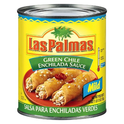 Las Palmas Mild Green Chile Enchilada Sauce 28oz