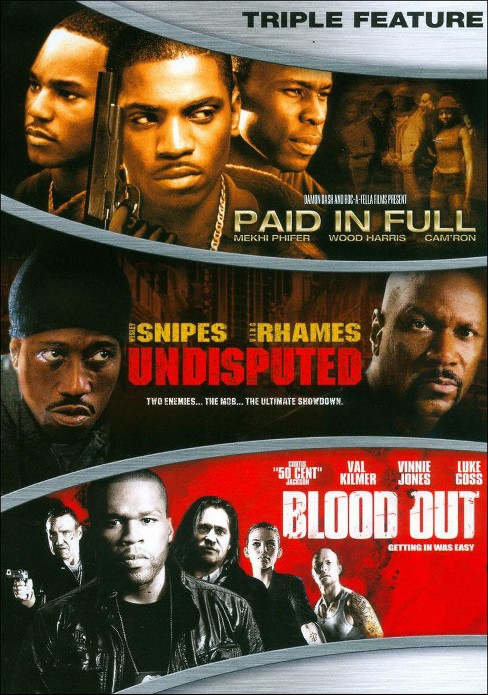 Paid in Full/Undisputed/Blood Out (3 Discs) (dvd_video) - image 1 of 1