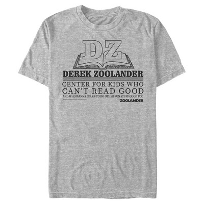 Men's Zoolander Center for Kids Who Can't Read Good T-Shirt