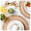 Natural Kitchen Textiles Decorative Charger - Threshold™ - image 2 of 3
